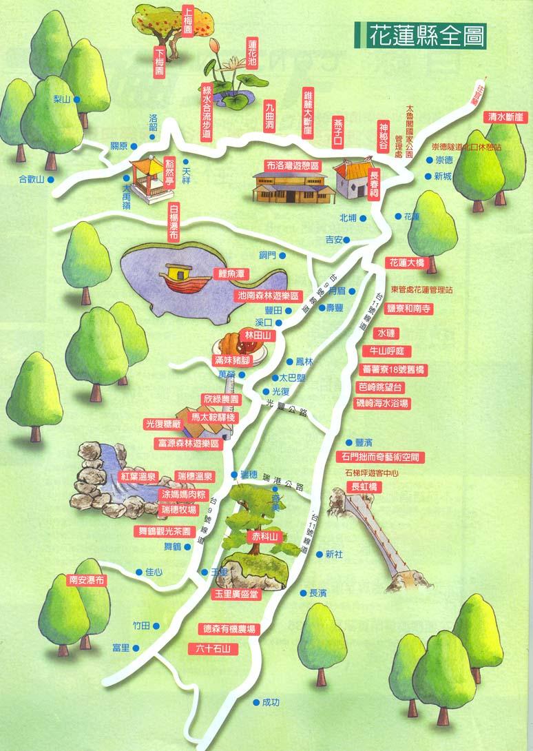 青岛台东夜市地图